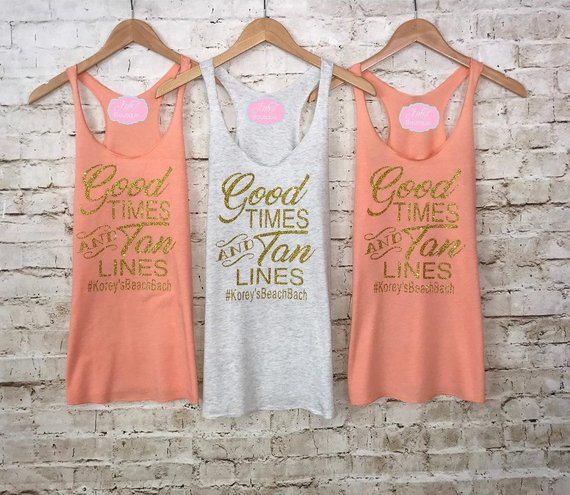 pink tank tops beach themed bachelorette party favors beachin babes tank tops bachelorette party shirts beach bachelorette party shirts